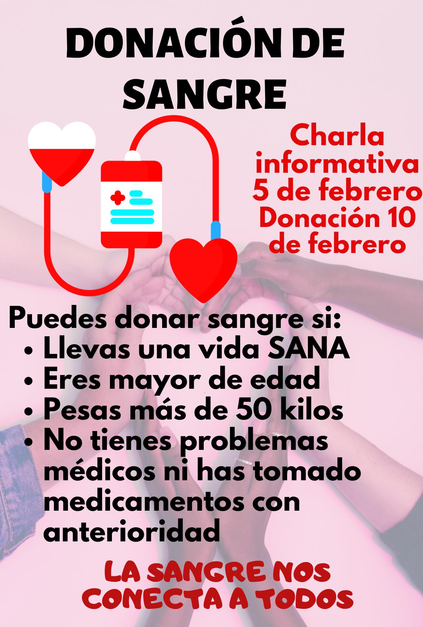 Campaña Donantes de Sangre